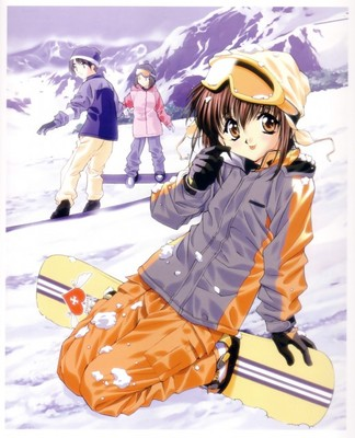 mamoru snowboarding